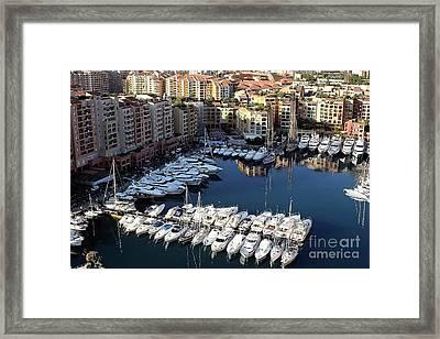 Monaco Framed Print by Tom Prendergast