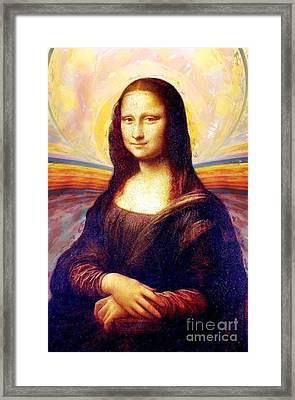 Monalisa Framed Print
