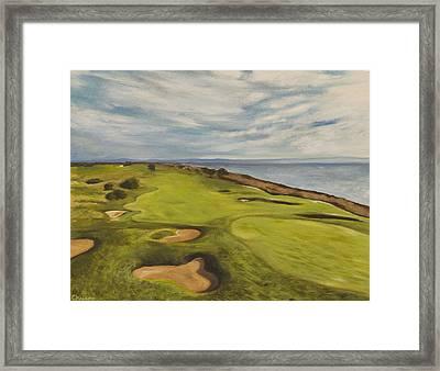 Monarch Bay Golf Course Framed Print
