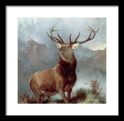Mountainous Framed Prints
