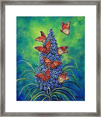 Monarch Waystation Framed Print