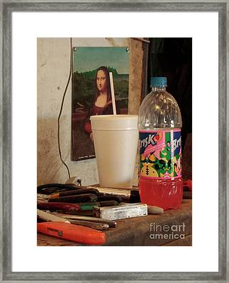 Framed Print featuring the photograph Monas Sodas by Joe Jake Pratt