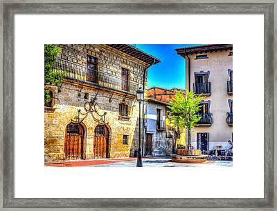 Monastary Framed Print by Dado Molina