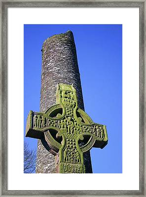 Monasterboice Framed Print by Martina Fagan