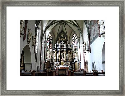 Monastery Church Oelinghausen, Germany Framed Print