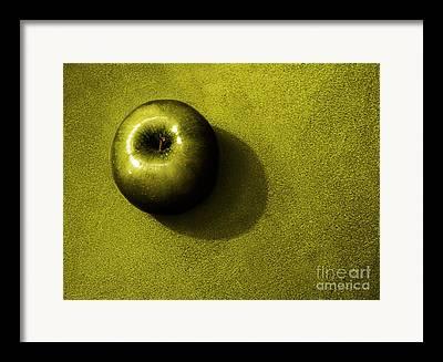 Green Fruit Framed Prints