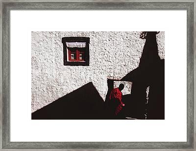 Monastery Framed Print by Marji Lang