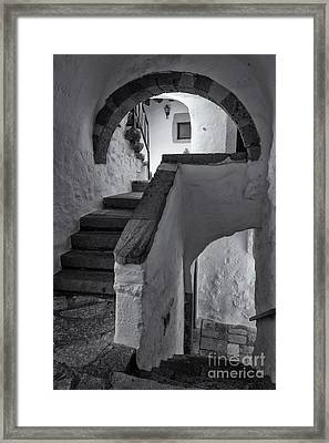 Monastery Of Saint John The Theologian Framed Print