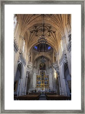 Monastery Of St John Of The Kings Framed Print