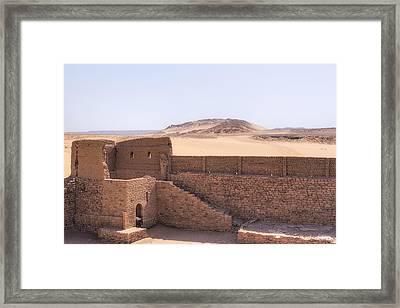Monastery Of St Simeon - Egypt Framed Print by Joana Kruse