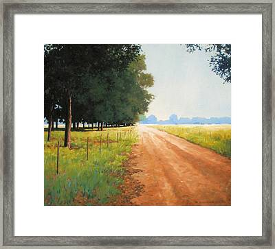 Monday Morning Framed Print by Kevin Lawrence Leveque