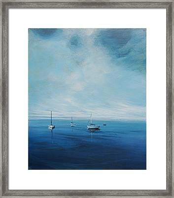 Monday Morning Framed Print by Michele Hollister - for Nancy Asbell