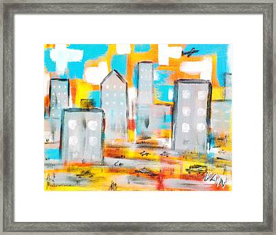Monday Morning Framed Print by Van Winslow