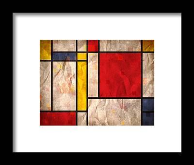 Cubist Framed Prints
