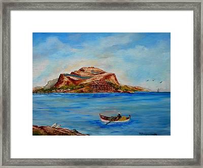 Monemvasia Framed Print