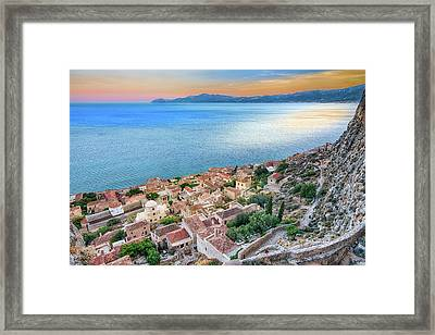 Monemvasia / Greece Framed Print