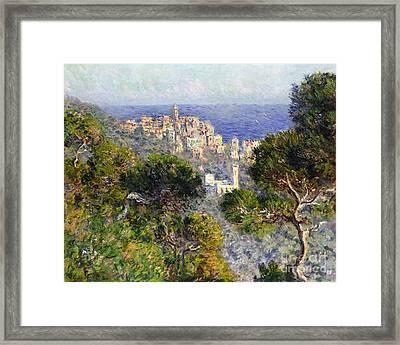 Monet: Bordighera, 1884 Framed Print by Granger