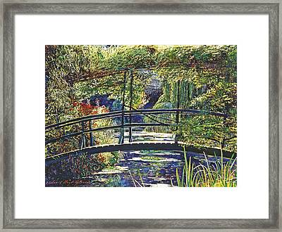 Monet Framed Print by David Lloyd Glover