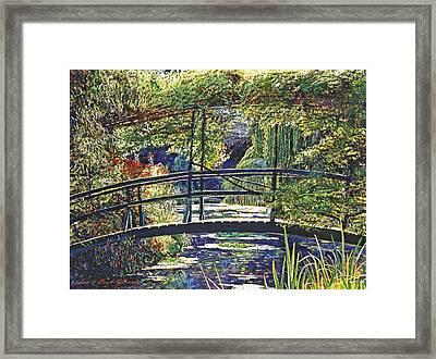Monet Framed Print by David Lloyd Glover