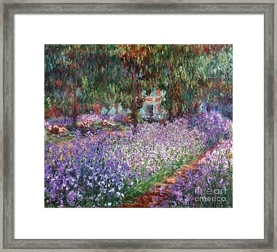 Monet: Giverny, 1900 Framed Print by Granger