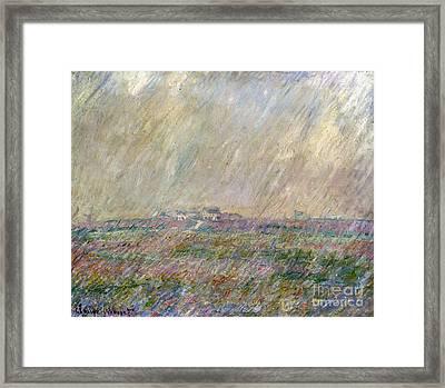 Monet: Landscape Framed Print
