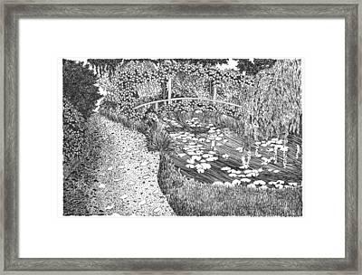 Monet's Paradise Framed Print by Thomas  Ferguson