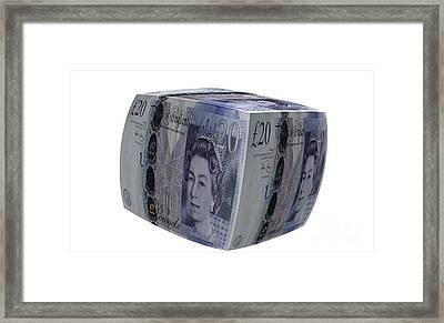 Money Box Uk Framed Print