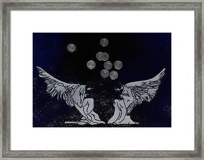 Money Give Us Wings Framed Print