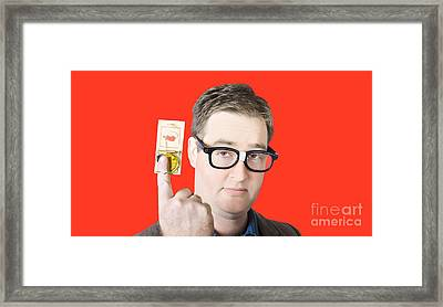 Money Trap Framed Print