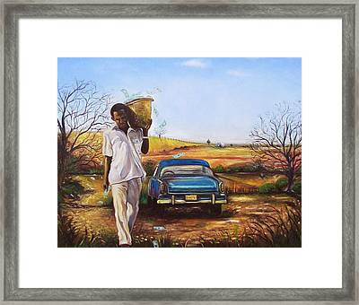 Framed Print featuring the painting Money Tree by Emery Franklin