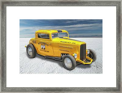 Moneyes Special 32 Ford Coupe Framed Print by Gary Warnimont