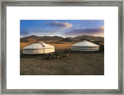 Mongolian Serenity Framed Print