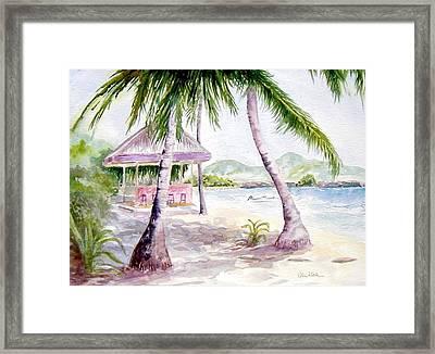 Mongoose Beach Bar Framed Print