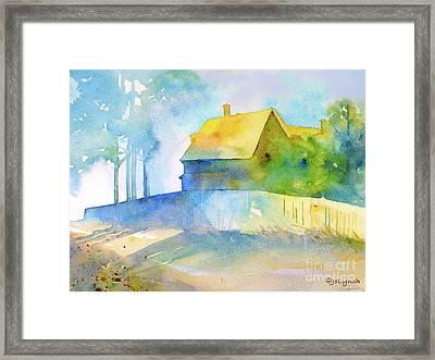 Monhegan Island Morning Framed Print by Jo Lynch
