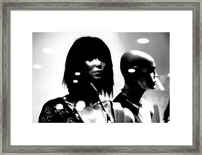 Monica Y Maddy Framed Print by Jez C Self
