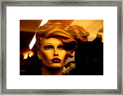 Monique Blown Away Framed Print by Jez C Self