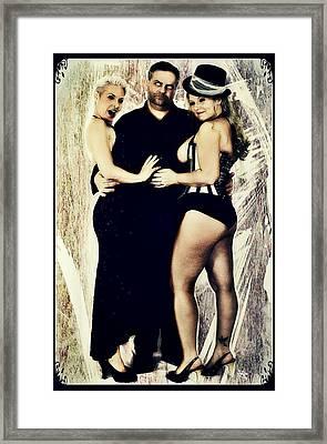 Monique, Mark And Ryli Framed Print