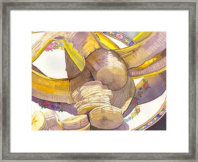 Monkey Bait Framed Print by Catherine G McElroy