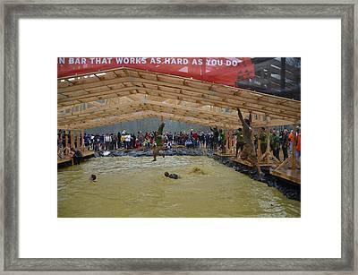 Monkey Bars Framed Print by Randy J Heath