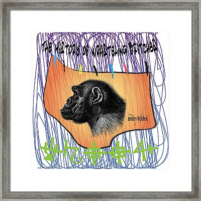 Monkey Britches Framed Print