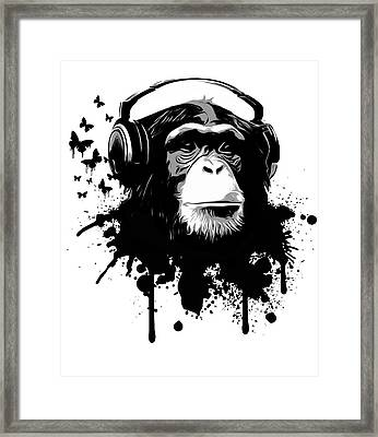 Monkey Business Framed Print by Nicklas Gustafsson