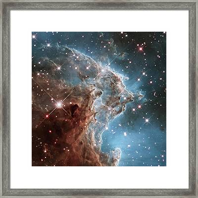 Framed Print featuring the photograph Monkey Head Nebula by Marco Oliveira