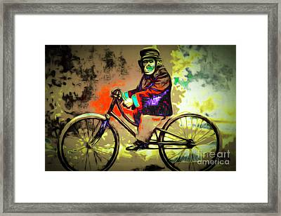 Monkey See Monkey Do 20151218 Framed Print by Wingsdomain Art and Photography