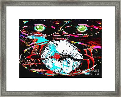 Monkey Works Framed Print