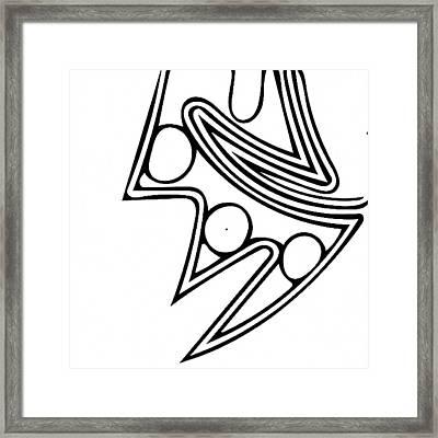 Monkey's Claw Framed Print by William Braddock