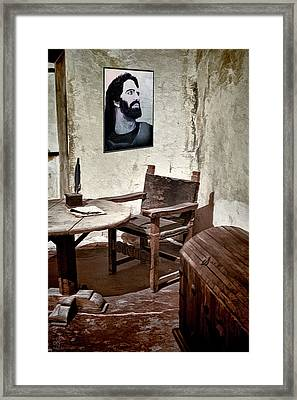 Monk's Cell Framed Print by Pennie  McCracken