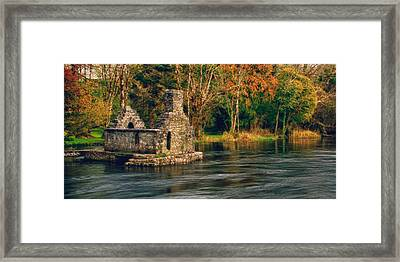 Framed Print featuring the photograph Monk's Fishhouse 2 by Trever Miller