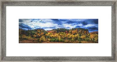 Monkton Ridge, Vt Framed Print