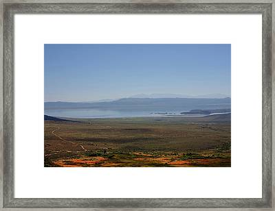 Mono Basin Landscape - California Framed Print by Christine Till