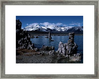 Mono Lake-signed Framed Print